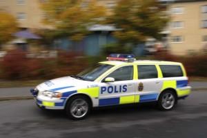 Polisbil på villovägar ...