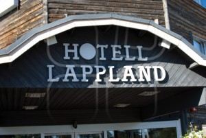 Dricks till Hotell Lapplandia