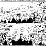 Aktiemarknadens förvirrade beteende…