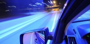 Fortkörning – men inget körkort