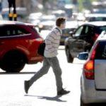 Fotgängare åtals för vårdslöshet i trafik