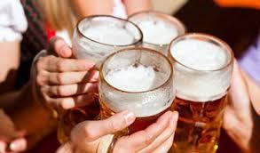 Gratis öl för pendlare i Japan