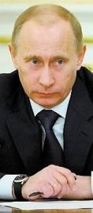 Vladimir Putin gör succé på skiva